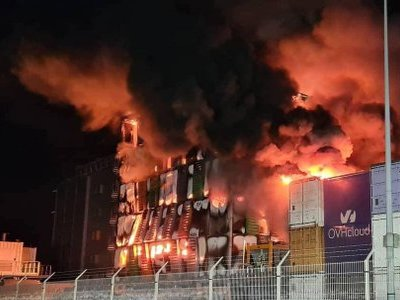 A fuoco il datacenter Ovh a Strasburgo