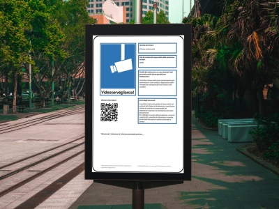 Videosorveglianza: il nuovo cartello predisposto dall'European Data Protectioon Board