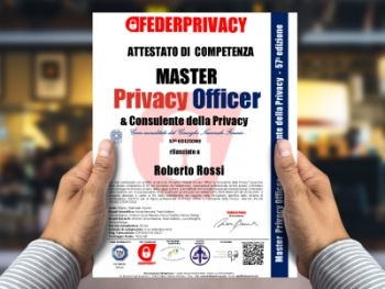 Master Privacy Officer e Consulente della Privacy, speciale edizione executive in Toscana